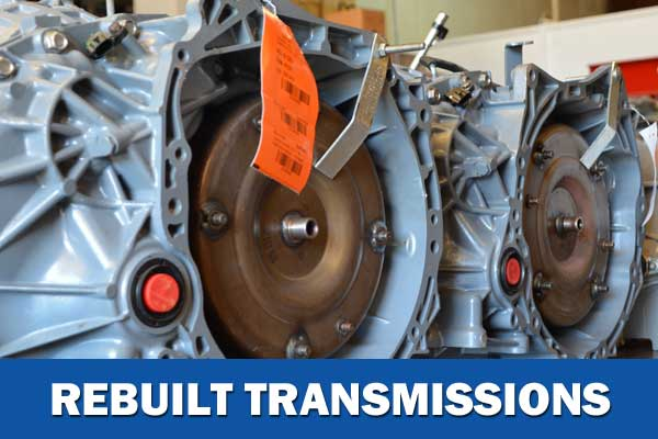Rebuilt Transmissions for Cars and Trucks in SC
