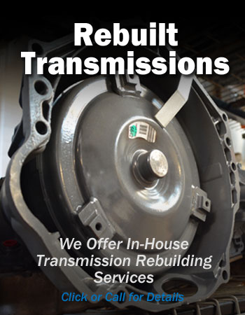 Rebuilt Automotive Transmissions in Stock